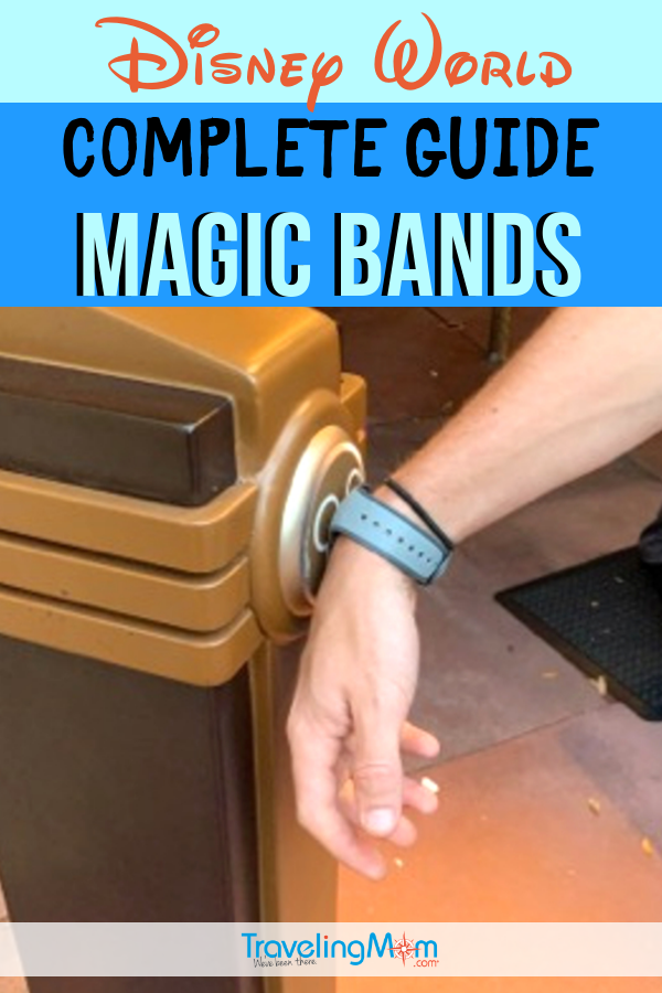 Everything you'll ever need to know about using Magic Bands at Walt Disney World, including how they work, hotel perks, how to customize and what to do if you lose it. All the Disney tips for using Magic Band on your vacation in one place! #TMOM #Disney #DisneyWorld #WDW #DisneyTips #MagicBand | TravelingMom | Disney Vacation Tips | Travel with Kids | Theme Park | Family Vacation
