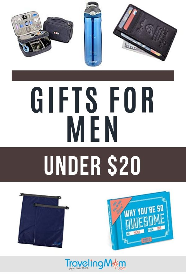 pin for gifts for men under $20