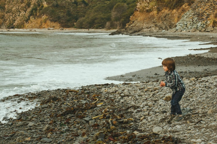 The beach is a must stop along the Mendocino coast.