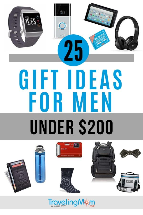 pin for gifts for men that cost less than $200