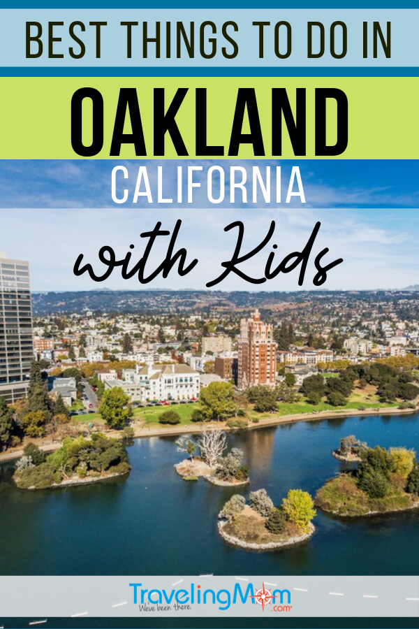From babies to teens, there are tons of family-friendly activities to do in Oakland California. From the Oakland Zoo to outdoor fun, the Bay Area city (near San Francisco) has plenty to keep kids busy. #TMOM #Oakland #California #SanFrancisco | TravelingMom | Family Travel | Travel with Kids