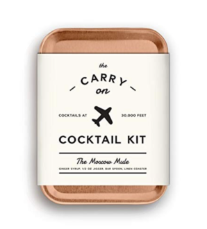 cocktail kit for the plane