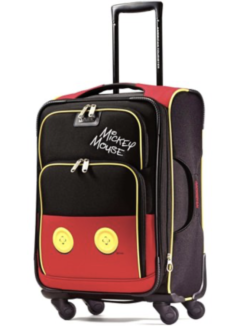 Disney kids luggage - TravelingMom