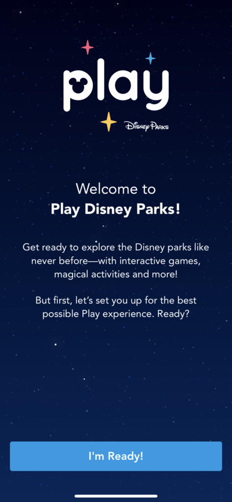 The Play app is free at Disney World