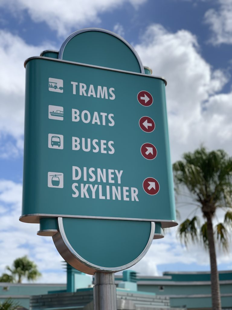 Many transportation options are free at Disney World.