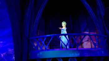 Frozen Ever After ride at Walt Disney World