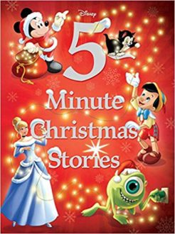 Gifts for Disney lovers: book of 5-minute Christmas stories