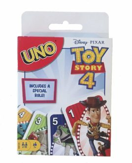 Gifts for Disney lovers -- Toy Story themed UNO card game
