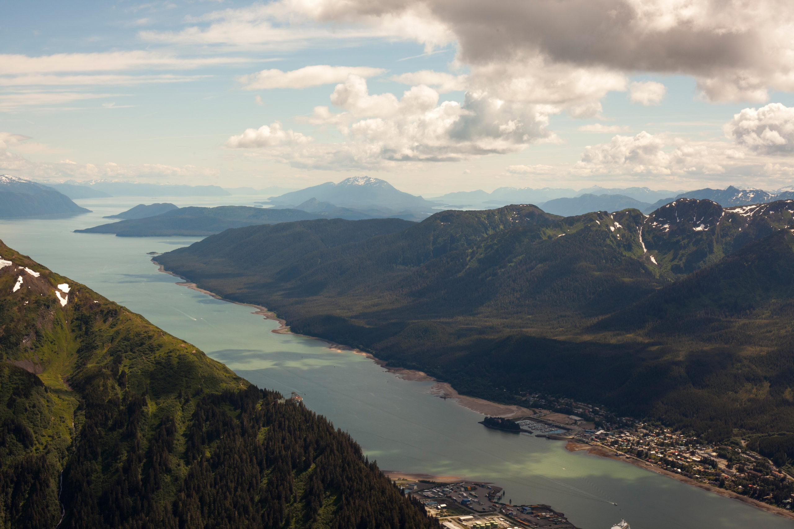 Juneau offers more than 250 miles of hiking trails including this hike on top of Mt. Juneau. Photo: Travel Juneau