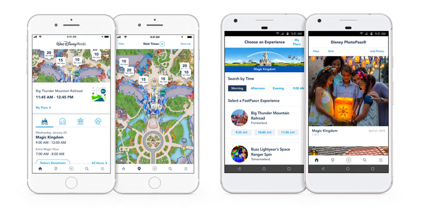 My Disney Experience is Disney's parks app.
