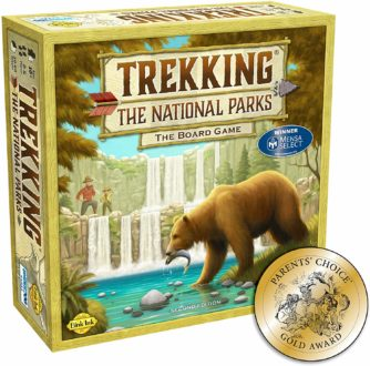National parks board game for kids