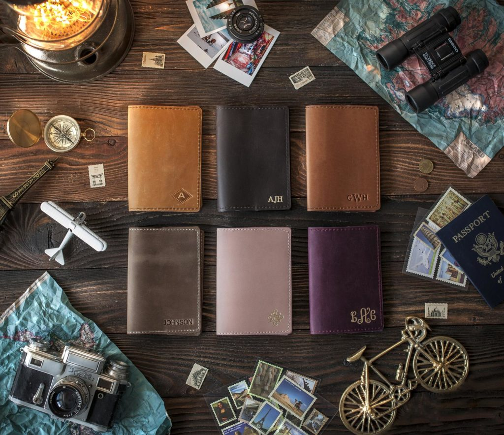 personalized passport cover for travelers