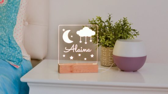 Personalized night lights for little kids