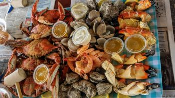 Peace River Seafood platter