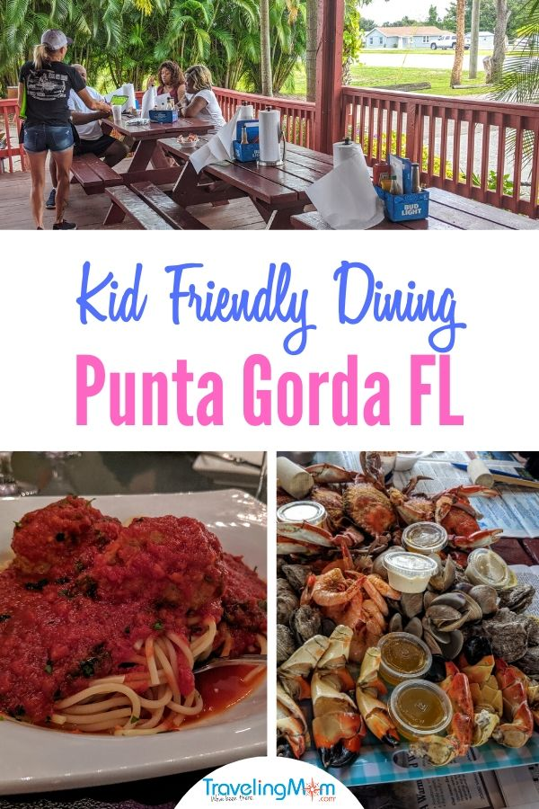Looking for a family restaurant in Florida? Try these 7 kid friendly restaurants in Punta Gorda (and 2 yummy dessert spots.
