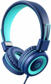 Tech gifts ideas: over the ear noise cancelling headphones for kids for under $20