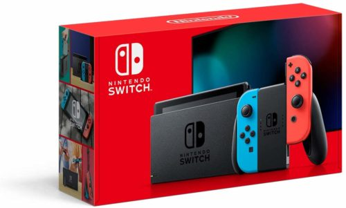 Ninetendo switch makes a great tech gift.