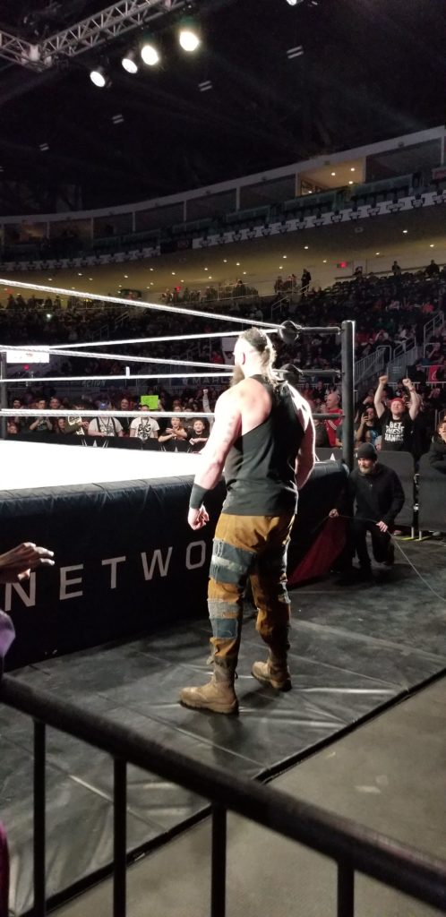 Braun Stroman at a WWE Event