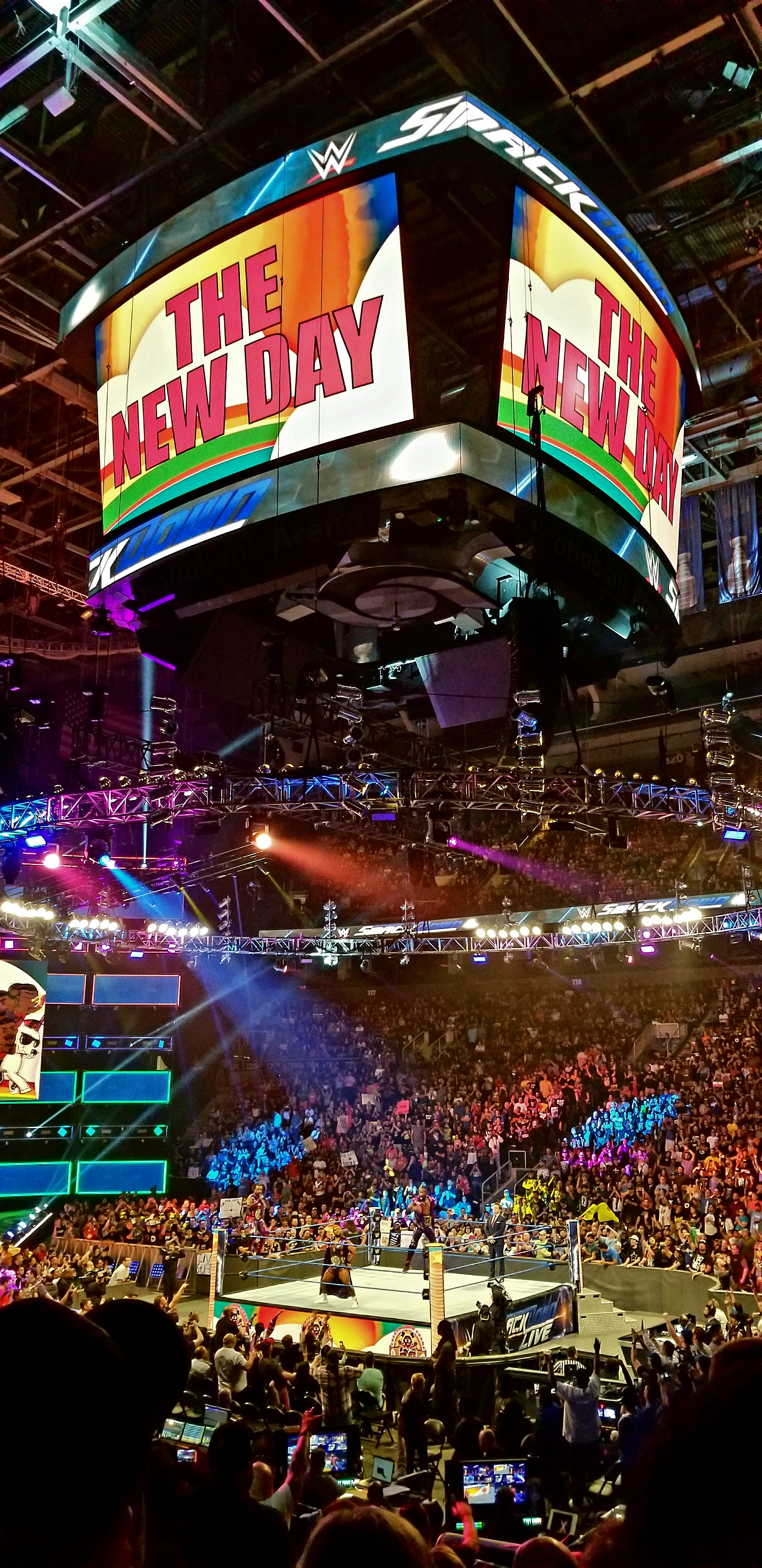 WWE Wrestling Event, The Ring