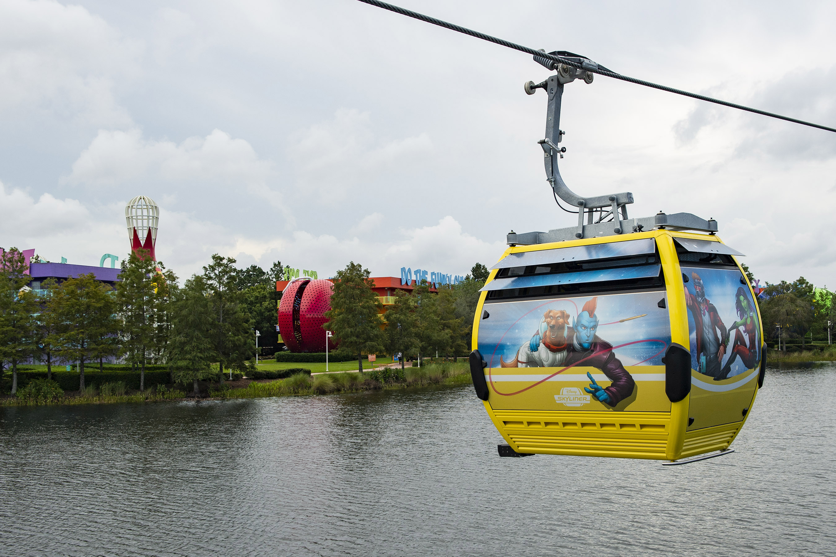 Disney transportation - skyliner