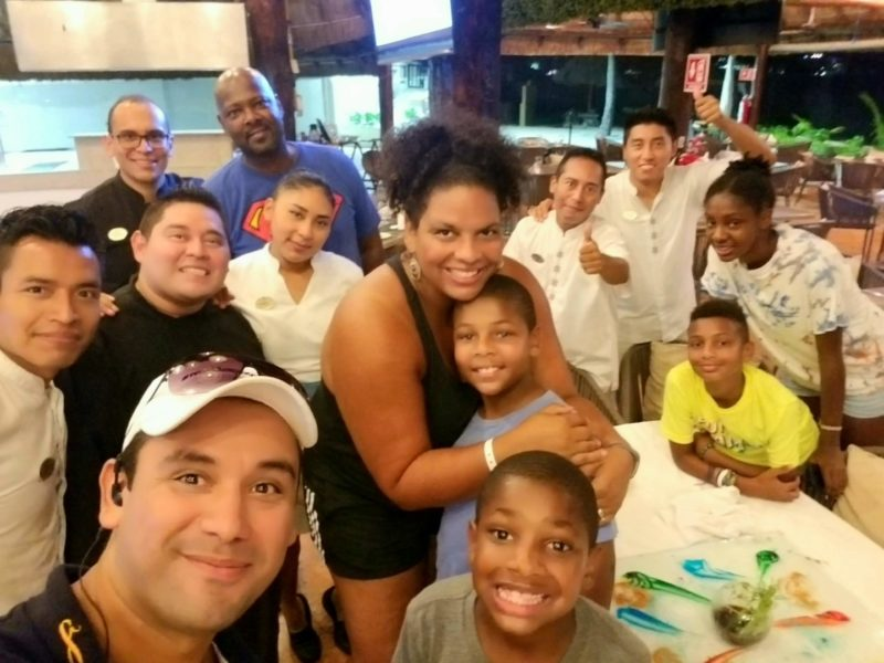 Cancun is one of the most fun Cancun family resorts. We felt like family.