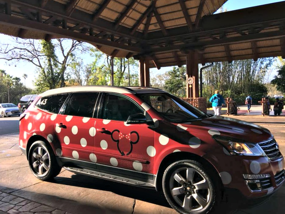 Minnie vans are just one means of Disney transportation.