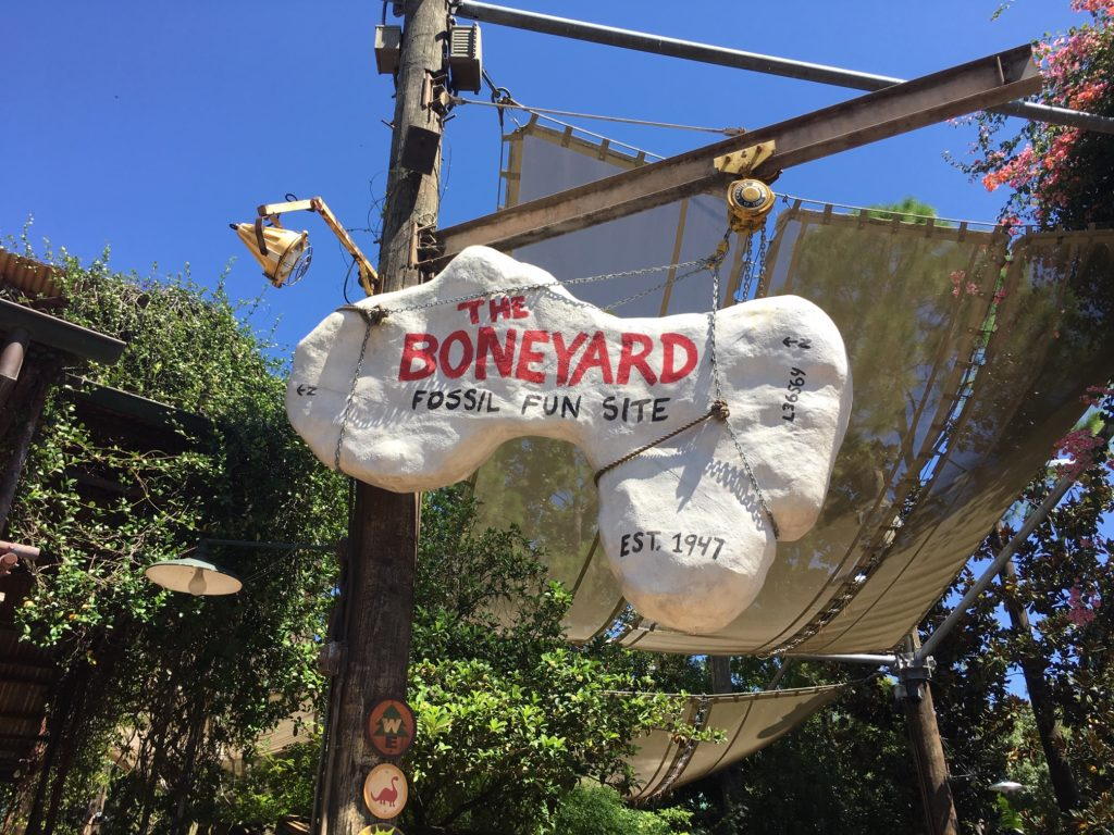 The Boneyard at Animal Kingdom is a play area that is great for kids 12 and under.