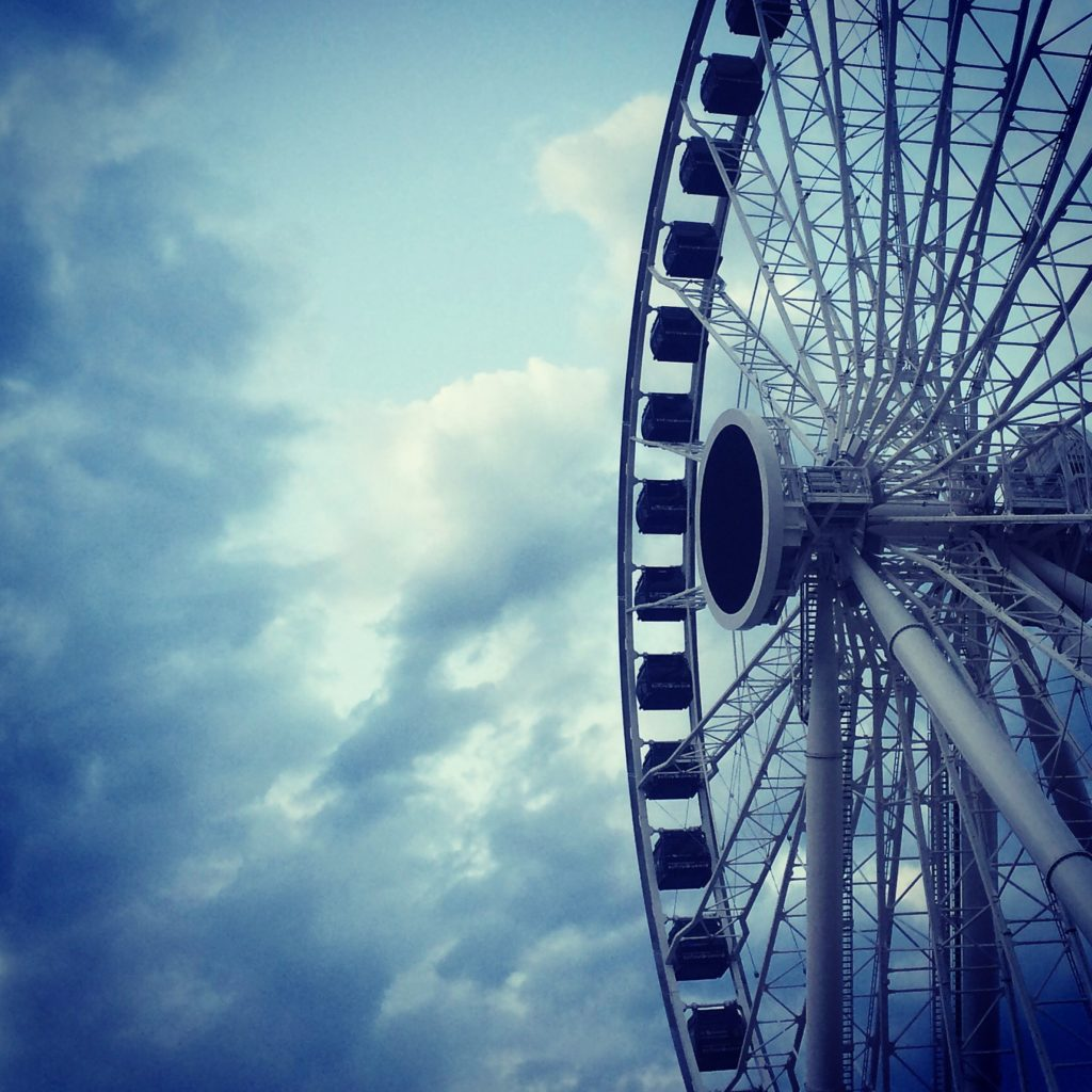 Navy Pier offers lots of great Instagram photo ops