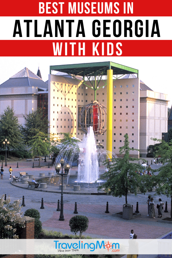 Explore the city of Atlanta with children in this collection of best museums for families. From art to Coca Cola, there's a museum in the Georgia city to explore with the kids in this guide. #TMOM #Museums #Atlanta #Georgia #FamilyTravel | TravelingMom