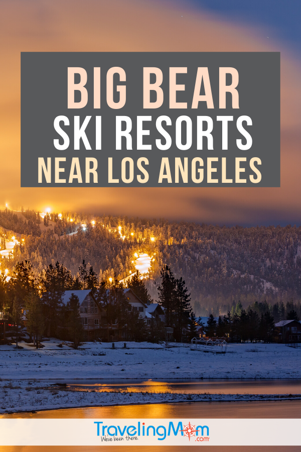 There are awesome skiing and snowboarding slopes just a few hours drive from Los Angeles! Get the tips on a ski trip to the Big Bear ski resorts, just a short road trip from the coast of California. #TMOM #BigBear #Ski #SkiTrip #Skiing #SkiVacation #WinterTravel #LosAngeles