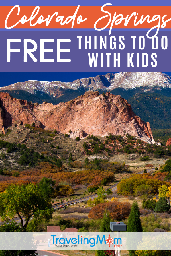 free things to do in Colorado Springs pin