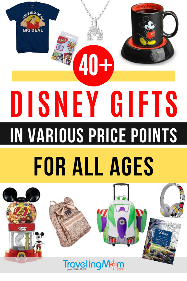 Disney lover in your life? This is the must-read gift guide that will satisfy any Disney fan in various price points and for all ages. For Disney fun at home or in the parks, the fun gifts in this shopping guide are sure to bring Disney magic to whomever receives them! #Shopping #Disney #DisneyGifts #DisneyShopping #Souvenirs #DisneyTravel