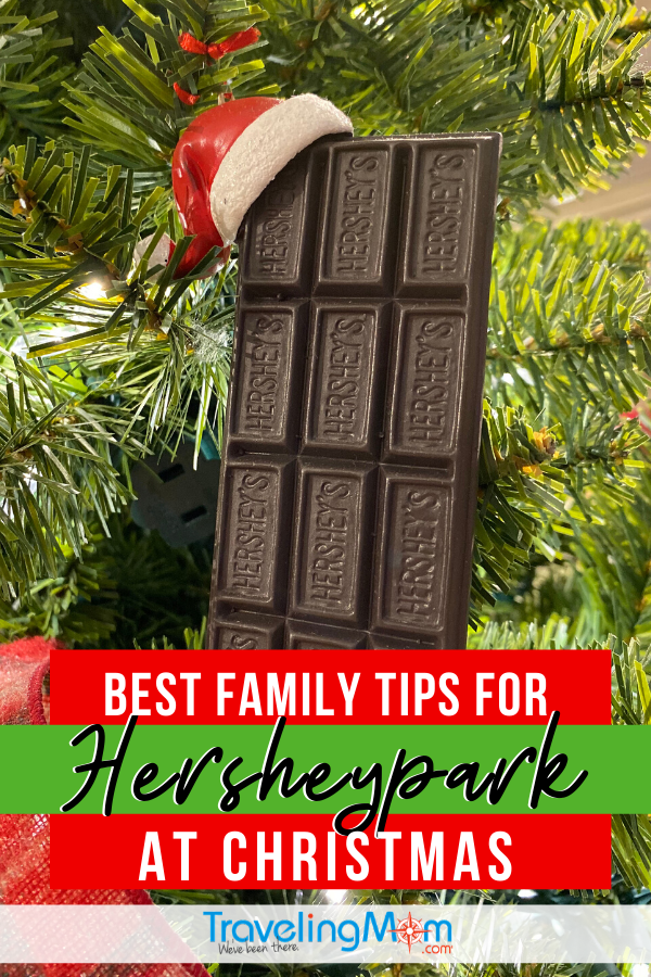 Hersheypark is a family friendly theme park and there's so much MORE to experience during the Christmas season. Get all the best tips on how to see and do it all during the holidays at Hersheypark in Pennsylvania. #TMOM #Hersheypark #Pennsylvania #ThemePark #AmusementPark #FamilyTravel #Christmas #HolidayTravel #WinterTravel | TravelingMom | Family Travel | Travel with Kids | Winter Travel