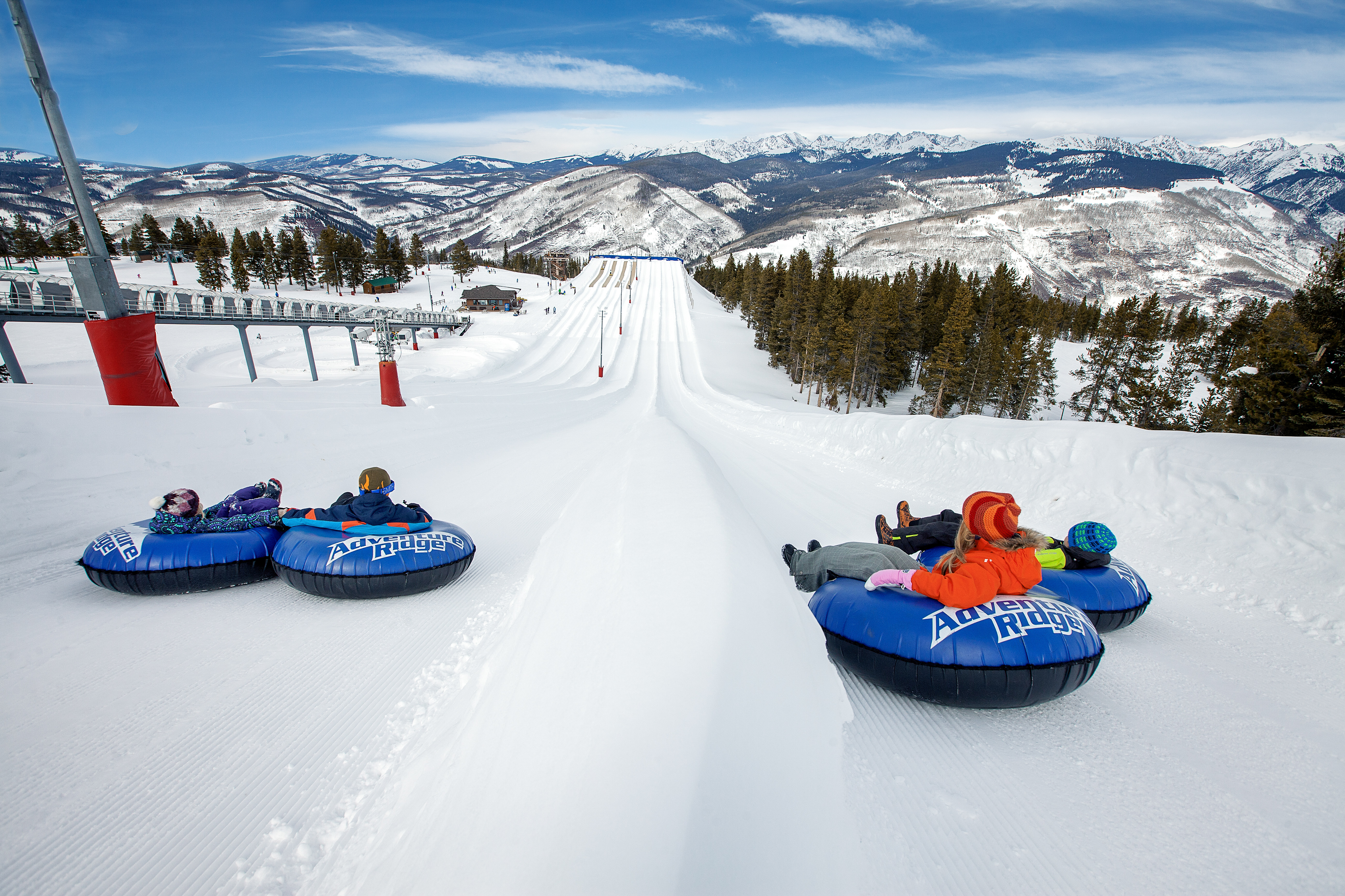 pack for fun on-mountain activities like snow tubing
