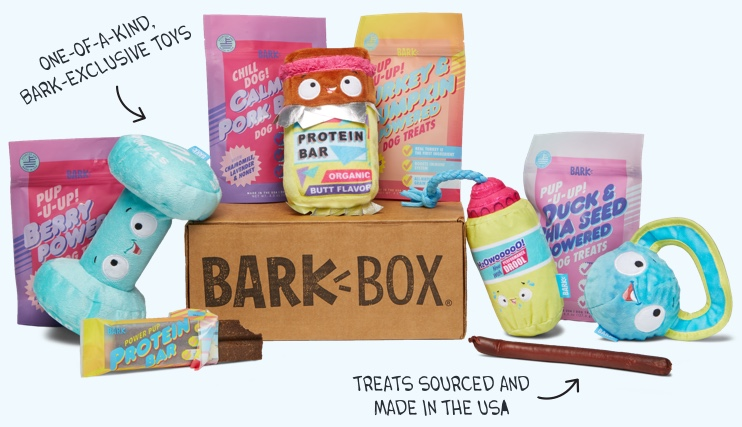 bark box dog gift