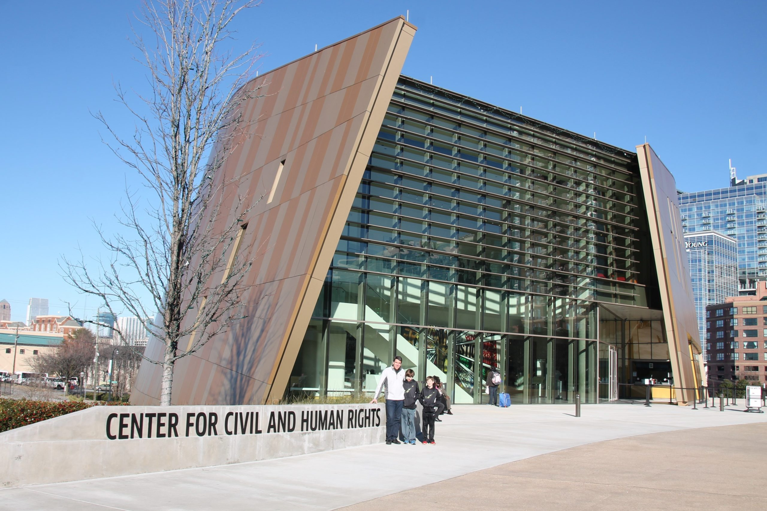 The National Center for Civil and Human Rights, just one of many Atlanta museums.