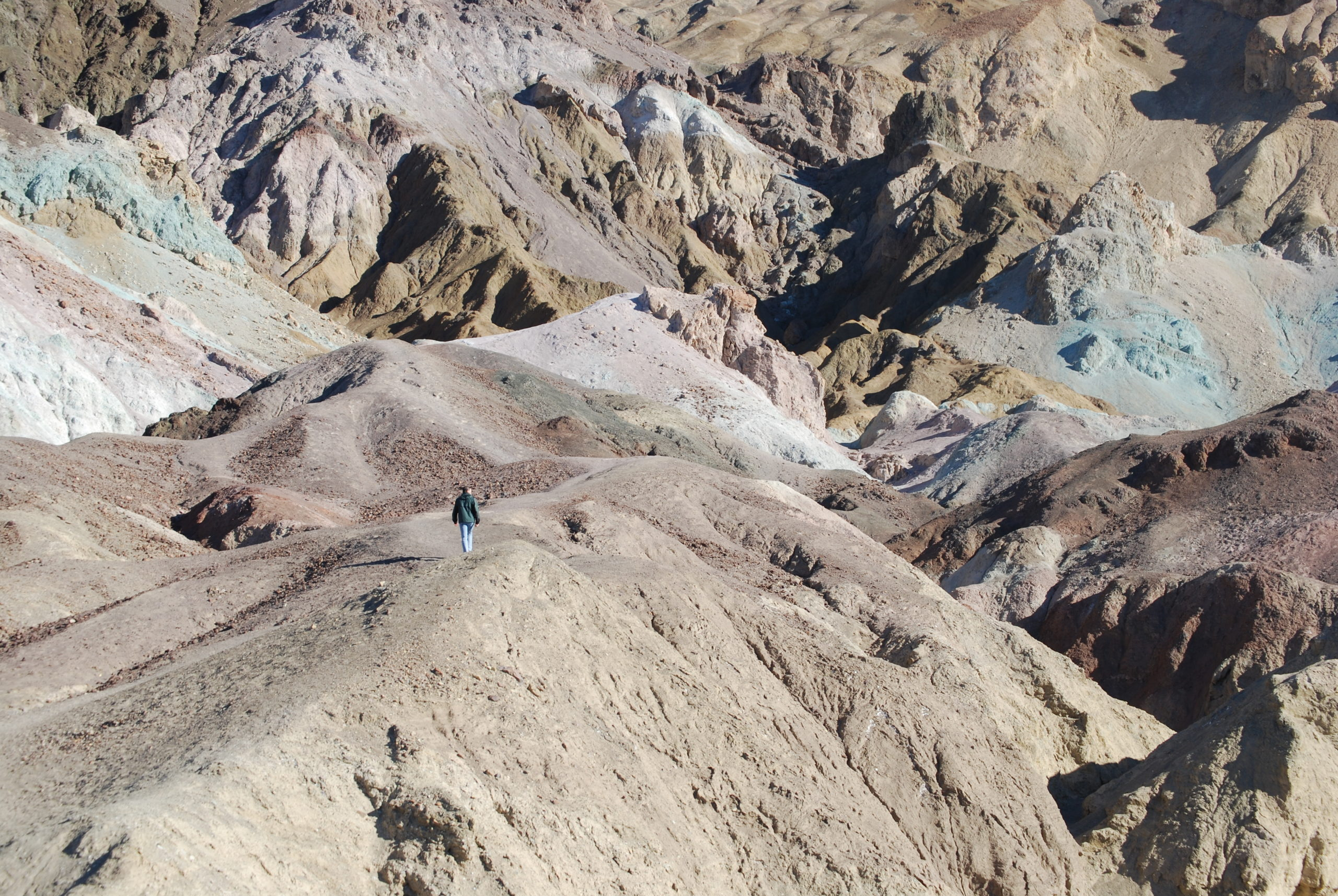 A short day trip from Las Vegas, Death Valley National Park offers family-friendly hikes.
