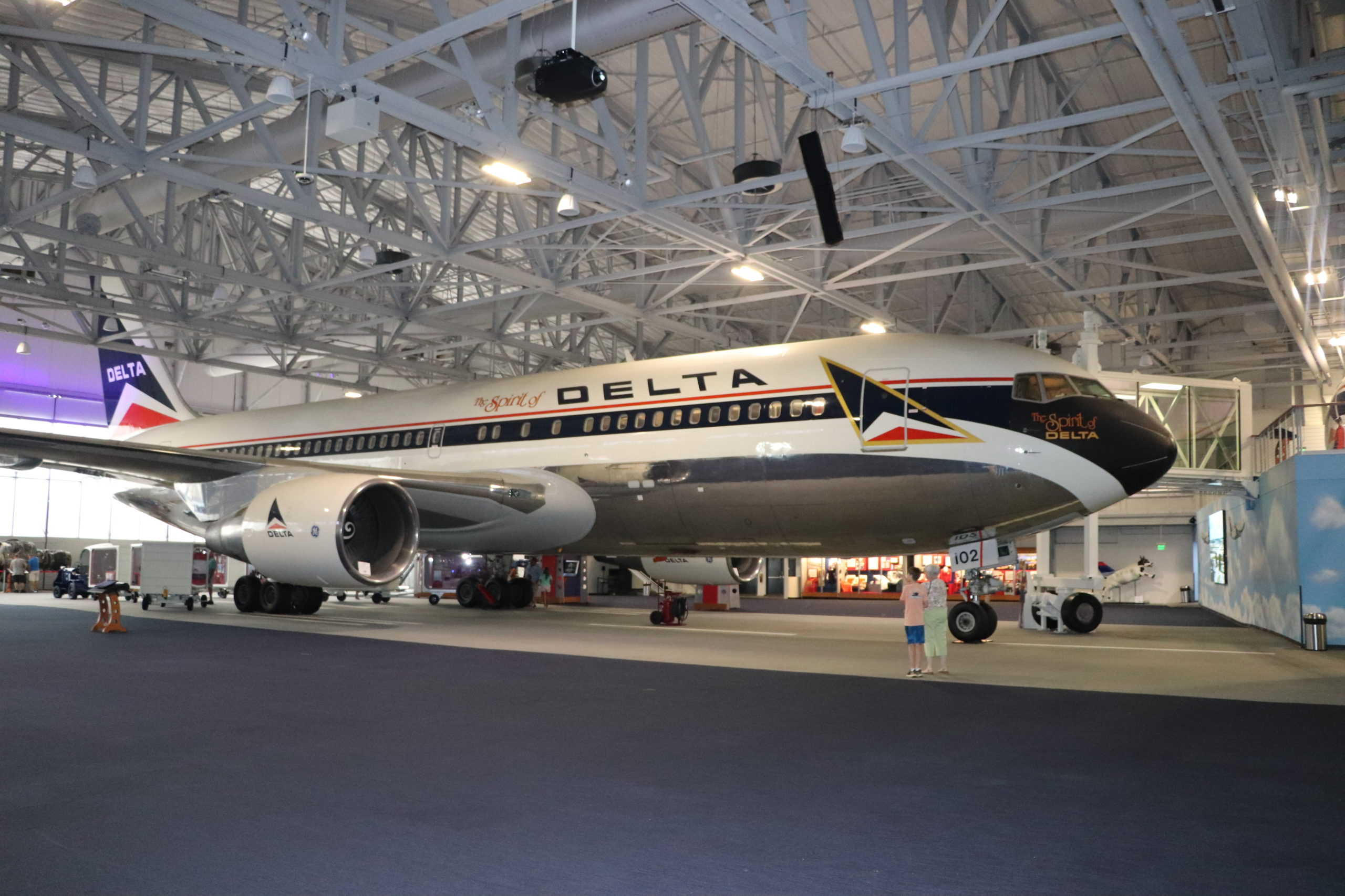The Spirit of Delta at the Delta Flight Museum, just one of many Atlanta museums.