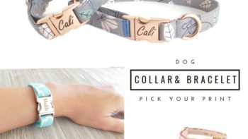 dog collar friendship bracelets- gifts for pet owners