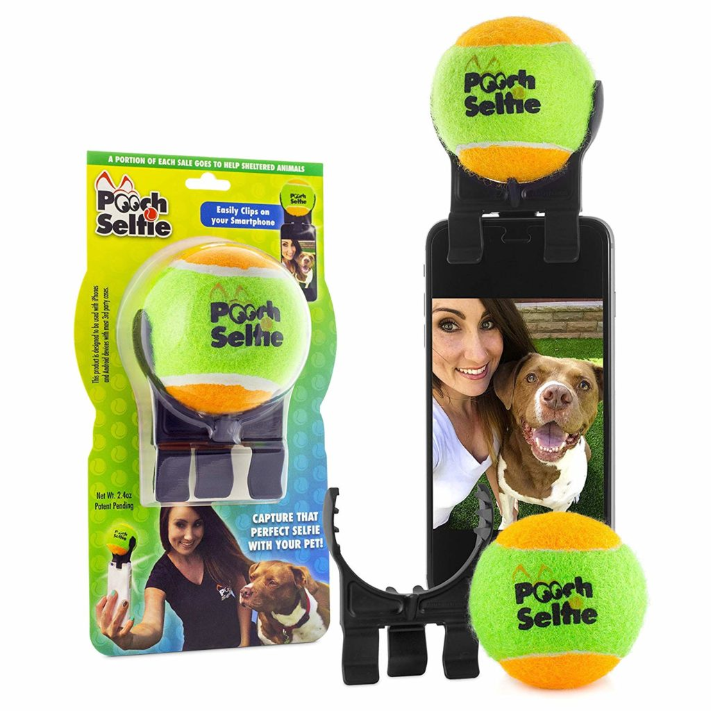 dog selfie stick phone attachment