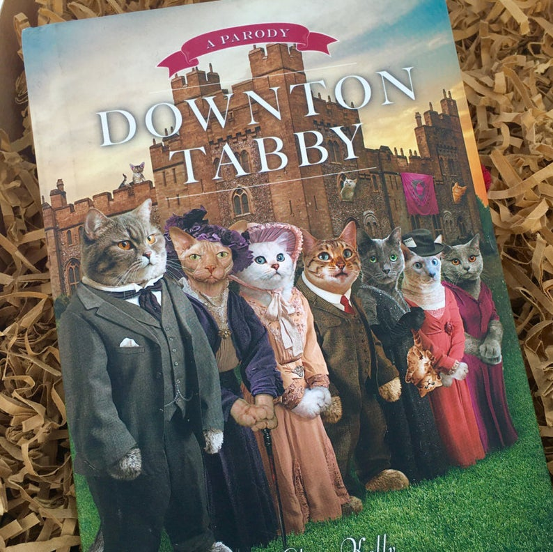 downtown tabby downton abbey parody gift