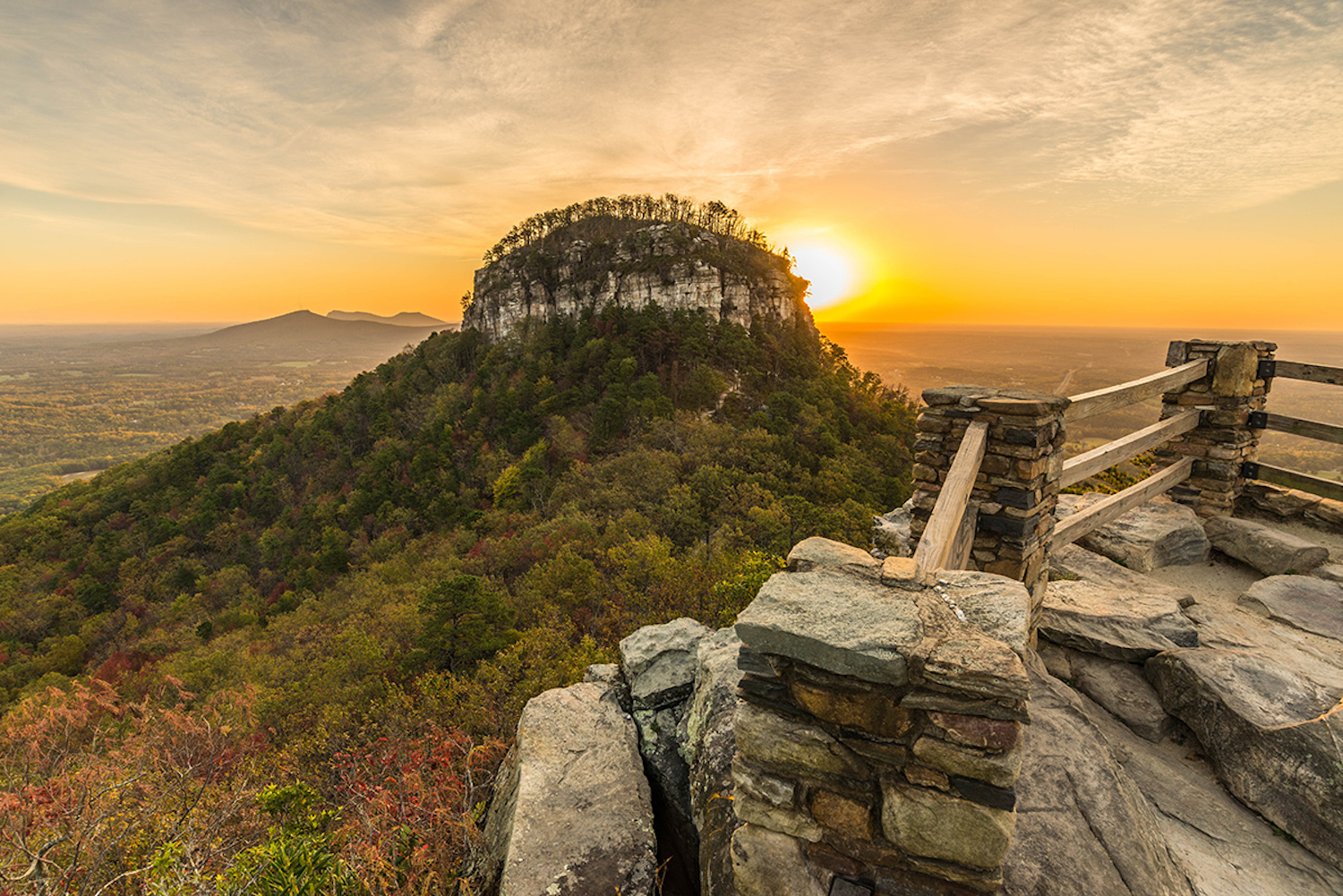 Things to do in Mount Airy NC means hikes, picnics, ranger-led events too.