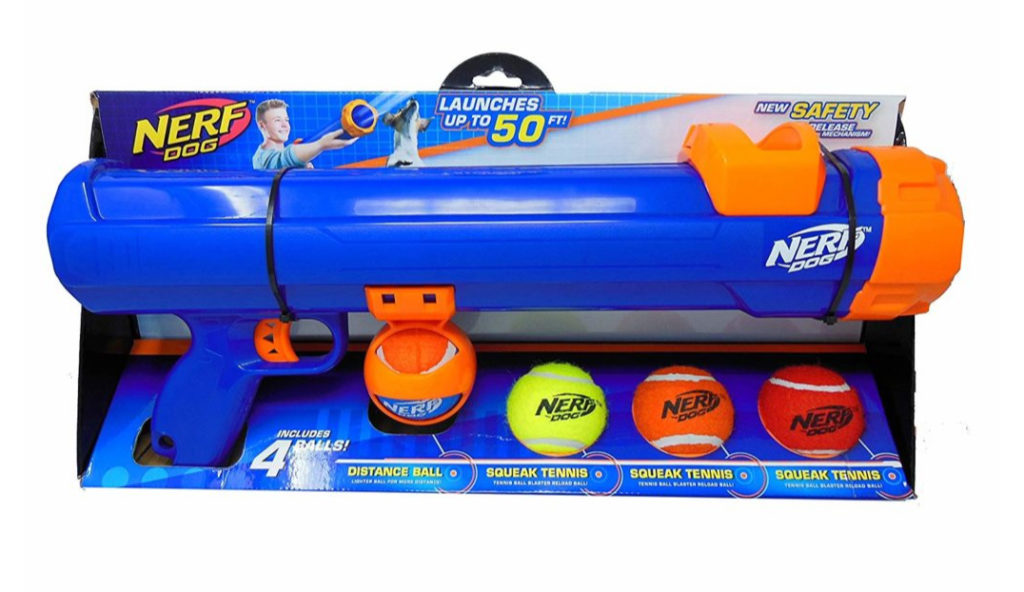 nerf tennis ball gun