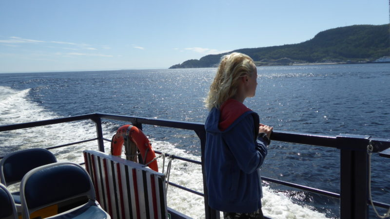 On the water in saguenay quebec.