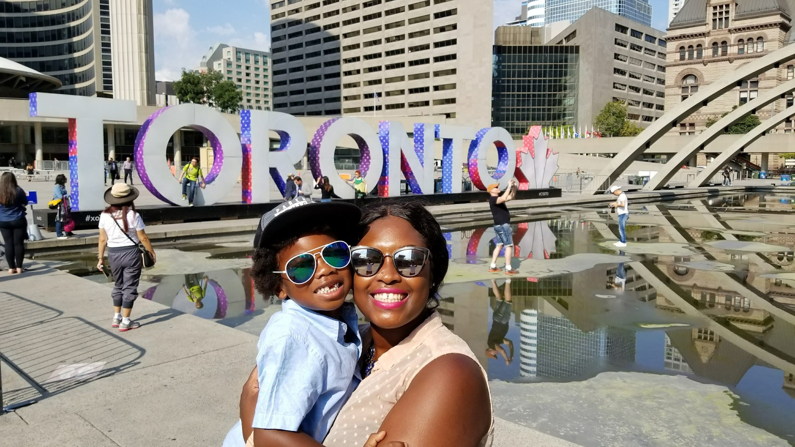 Canada is one of many wonderful countries to visit with kids.