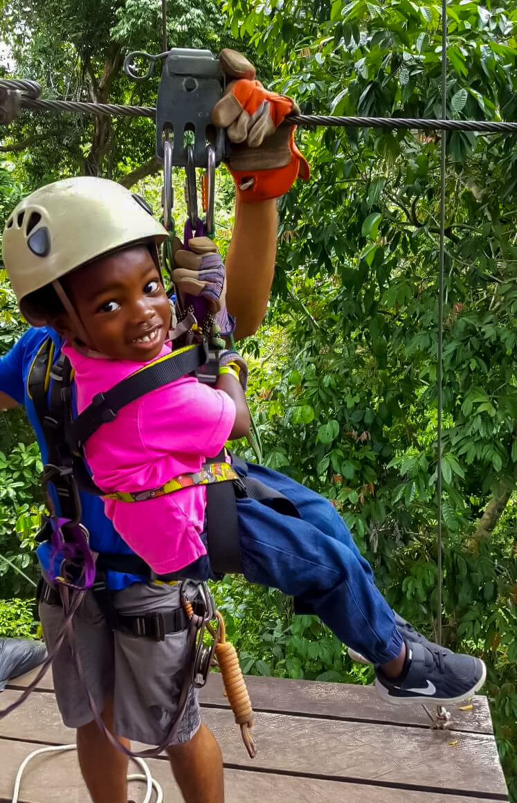 Costa Rica is one of many wonderful countries to visit with kids.