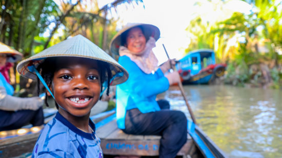 Vietnam is one of many wonderful countries to visit with kids.