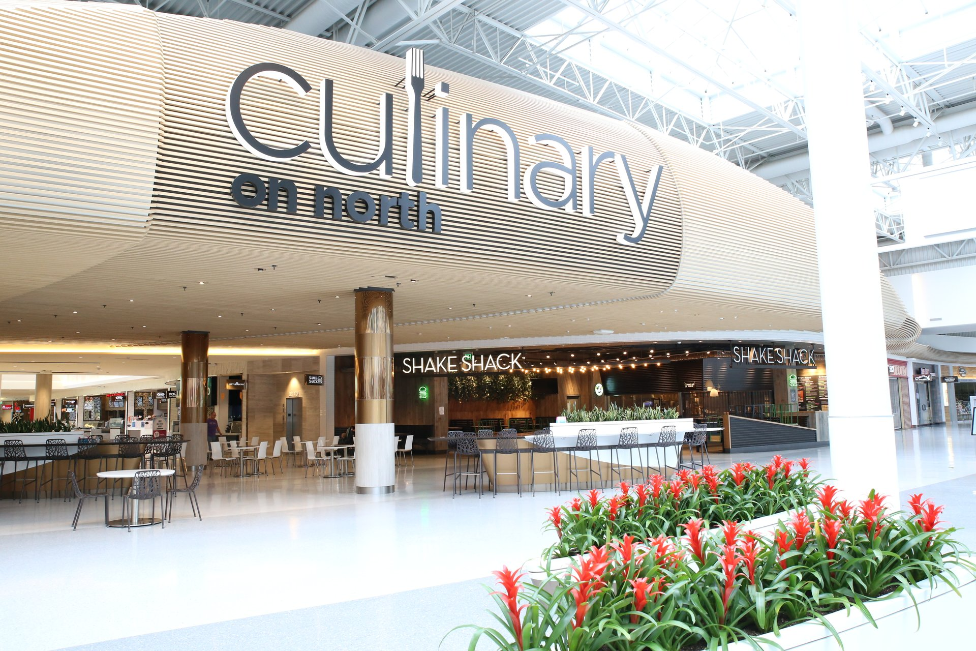 The Culinary on North Food Court has many Mall of America restaurants
