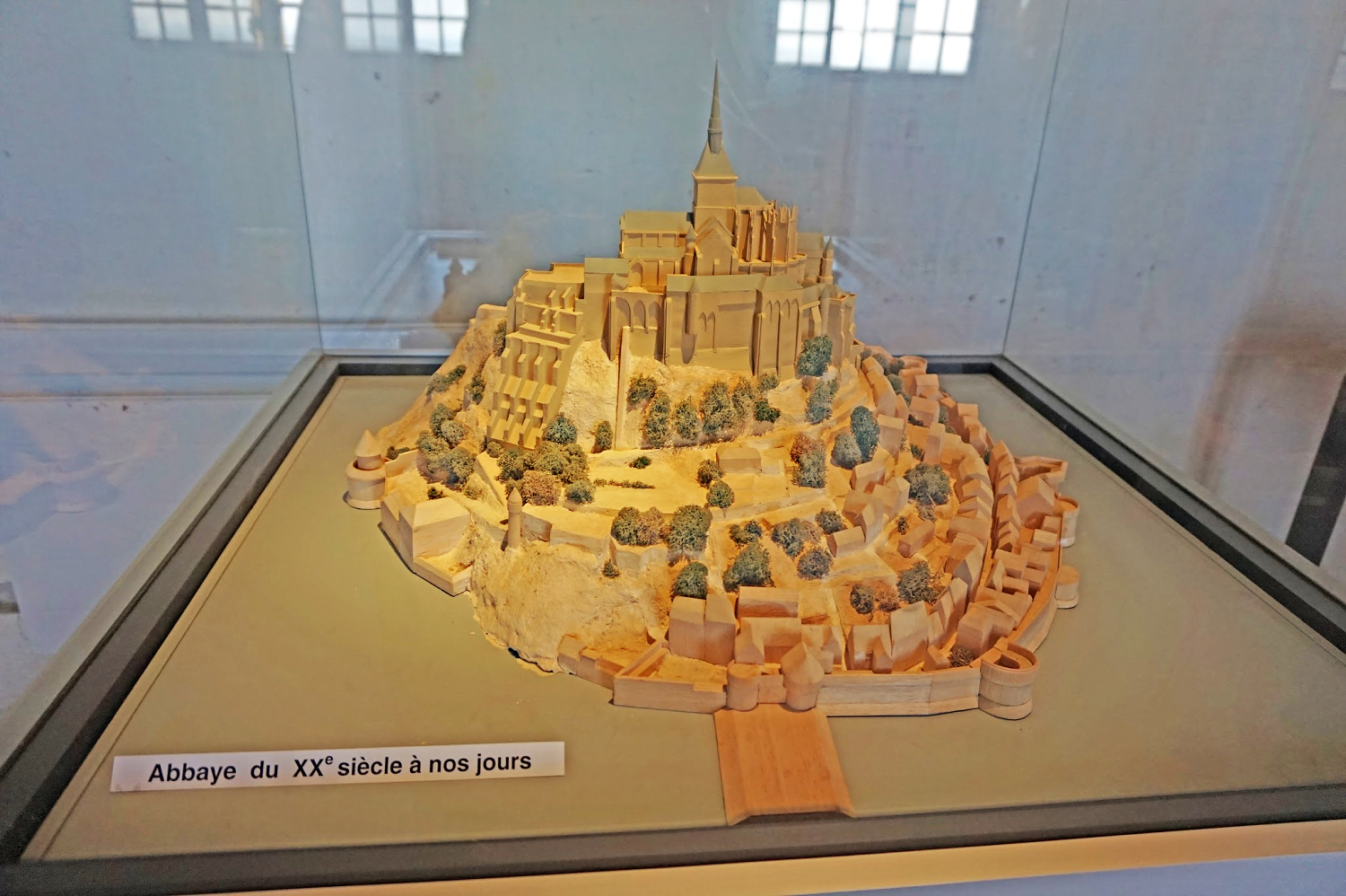 Replica of Mont St. Michel France.