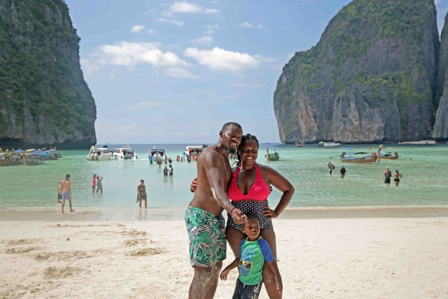 Thailand is one of many fun countries to visit with kids.